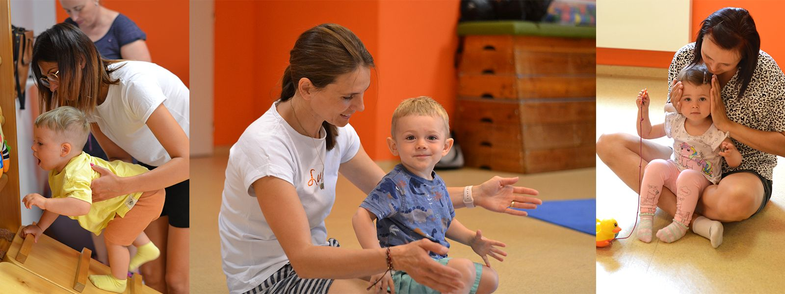 Cvičení kojenci a batolata