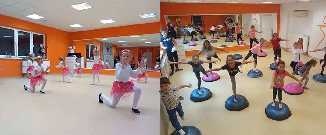Aerobik a jóga pro děti